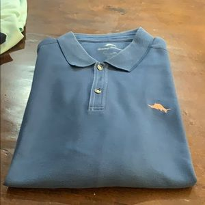 Tommy Bahama blue polo -xxl